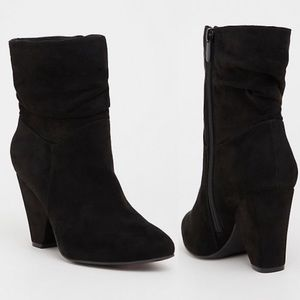 TORRID faux suede slouch boot 8.5 W NEW